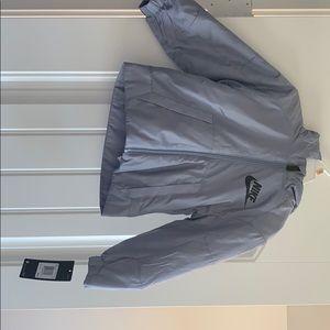 Nike Jacket-fleece interior, light down in between
